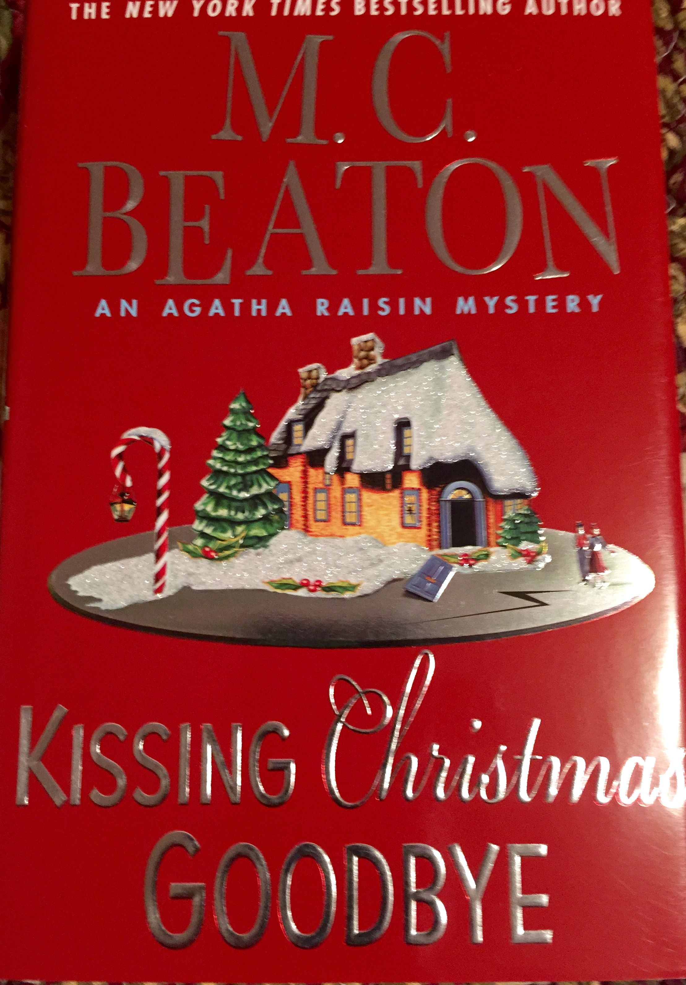 Agatha is a delight Holiday books, Christmas ornaments