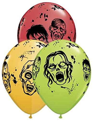 Zombies Assortment 11 Round Qualatex Latex Balloons  Pack of 5 * Click on the image for additional details.Note:It is affiliate link to Amazon.