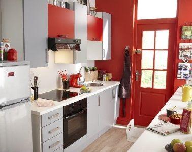 Aménagements Pour Une Cuisine En Longueur Cuisine En Longueur - Magasin de meubles de cuisine pour idees de deco de cuisine