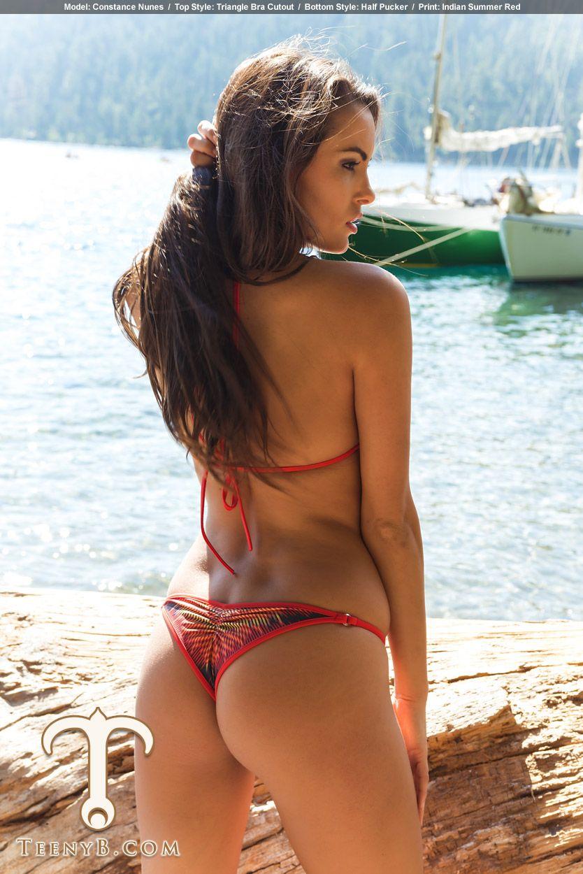 Constance Nunes Teeny B Pinterest Bikinis Red And