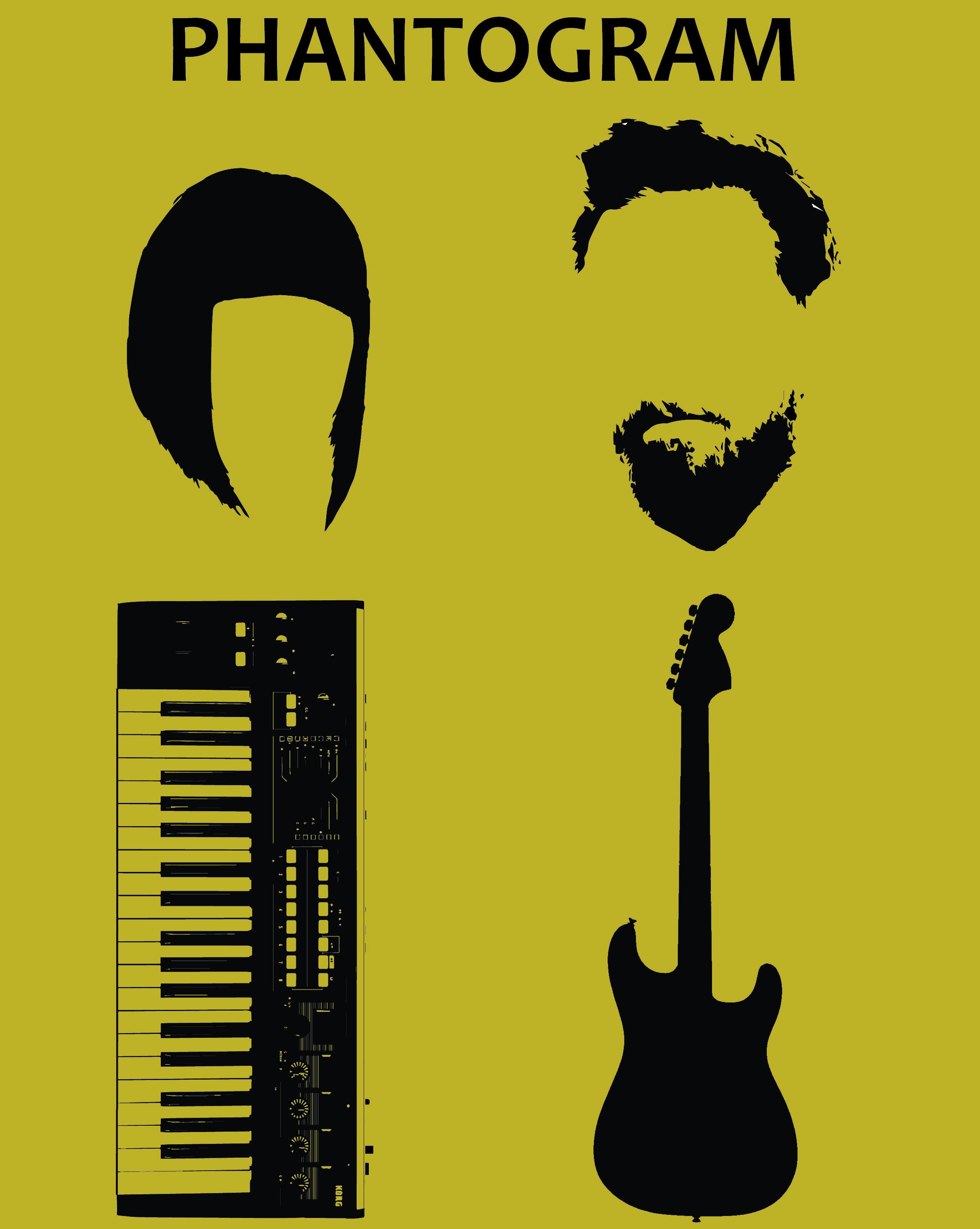 Phantogram band poster print