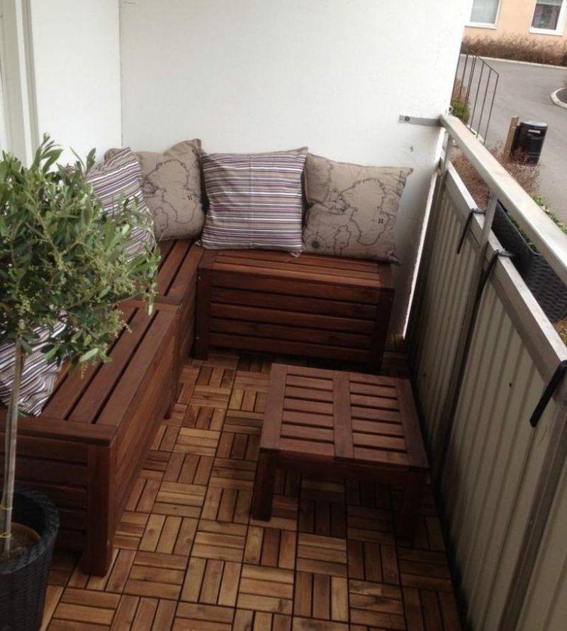 Kleine Eckbank Für Balkon