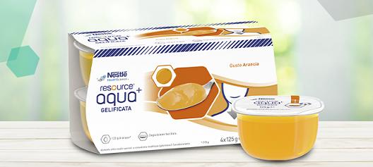 Campione gratuito Resource Aqua+ offerto da Nestlé