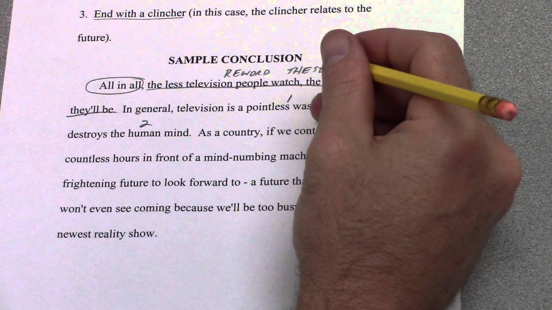 6 Paragraph Timed Argumentative Essay Part 7