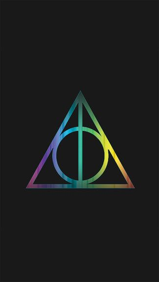 Wallpaper Galaxy Harry Potter Symbols