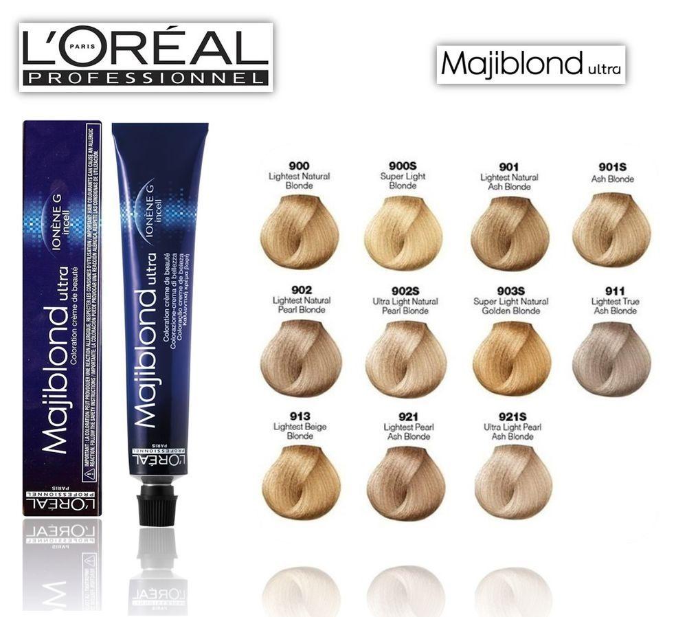 L Oreal Professional Majirel Majiblond Hair Colour 50ml Loreal Hair Dye Colour Health Beauty Hair Care Hair Color Chart Loreal Hair Color Loreal Hair
