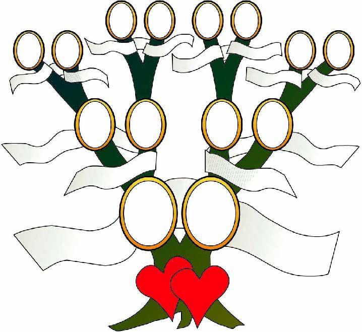 Stammbaumvorlage 1 Hochzeitszeitung Fotowand Ideen Hochzeit Stammbaum Vorlage