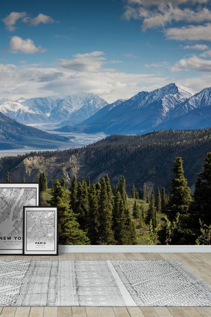Canada mountains Wall Mural Wallpaper Landscape wall murals