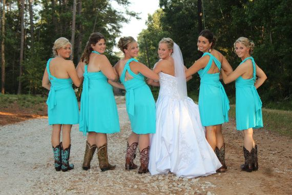 Teal Blue Convertible Dress 67 Colors Bridesmaids Wedding Honeymoon Tropical Vacation On Etsy 90 00