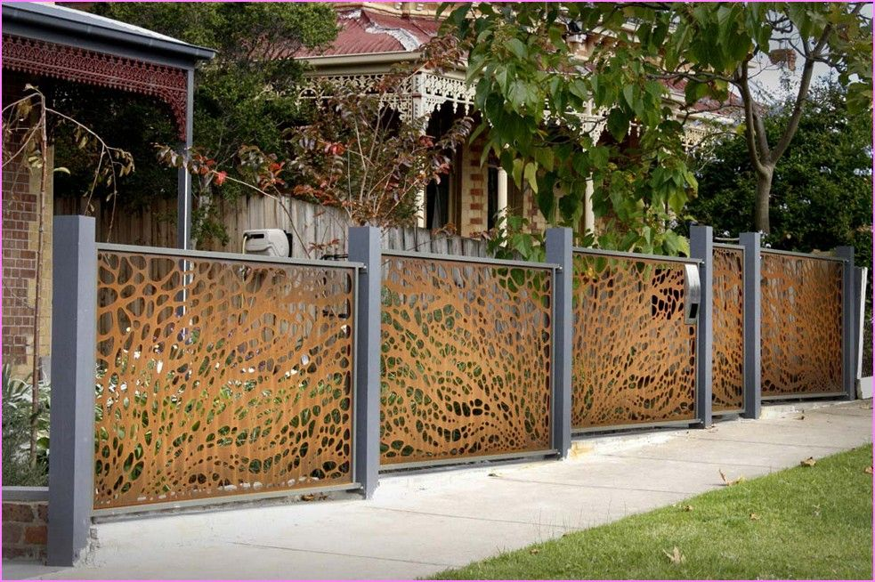 Wood fence with metal posts best home design ideas gallery wood fence with metal posts best home design ideas gallery workwithnaturefo