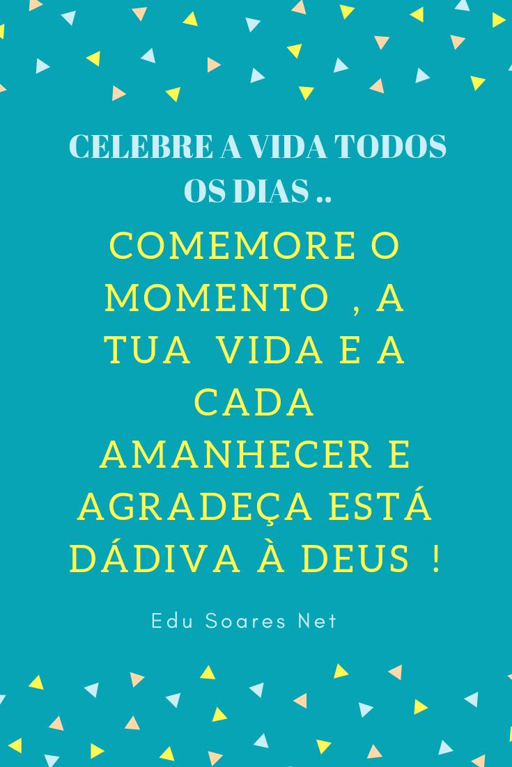 Frases Motivacionais Celebre A Vida Todos Os Dias