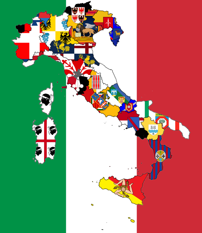 Regions Of My Country S Alternate Flags By Lorec10 On Deviantart Italy Flag Flag Country