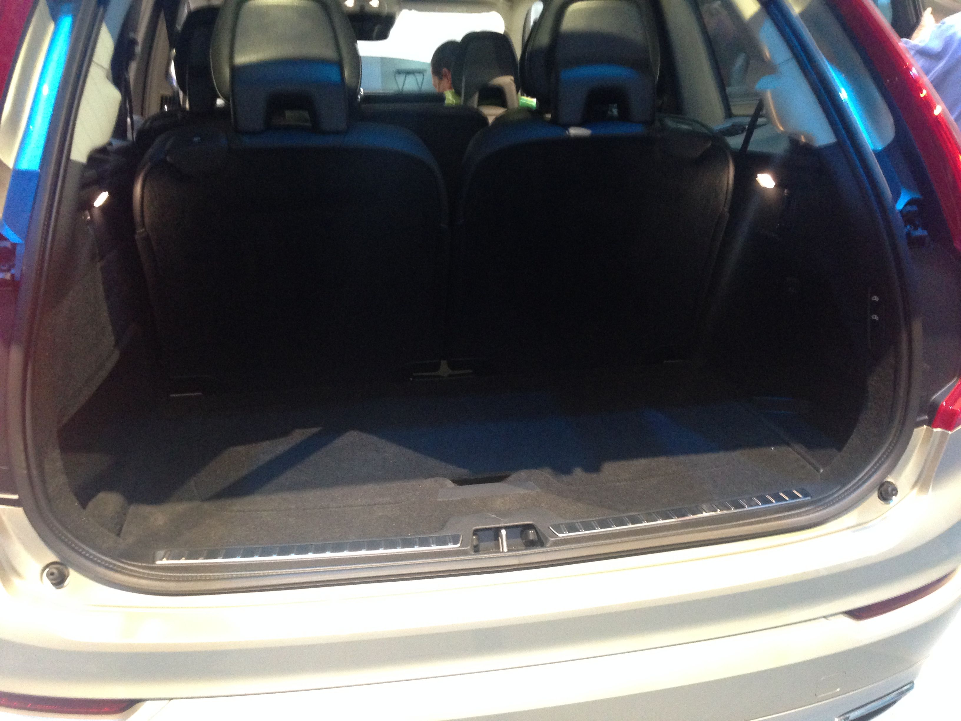 A Look At The Cargo Space Of The New 2016 Volvo Xc90 The