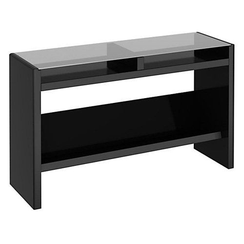 Kathy Ireland Office By Bush Furniture New York Skyline Laptop Sofa Table    Mocha $214.99