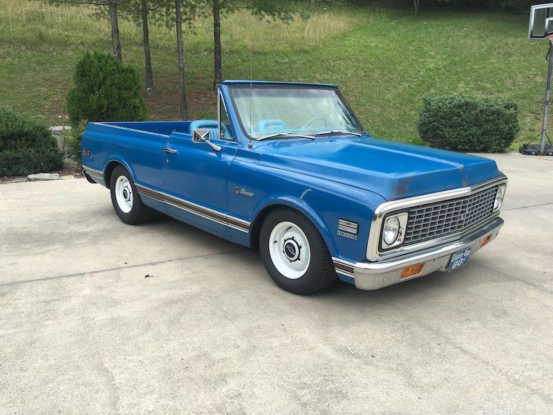 1972 Chevrolet Blazer Cst In Dark Blue For Sale 21 000