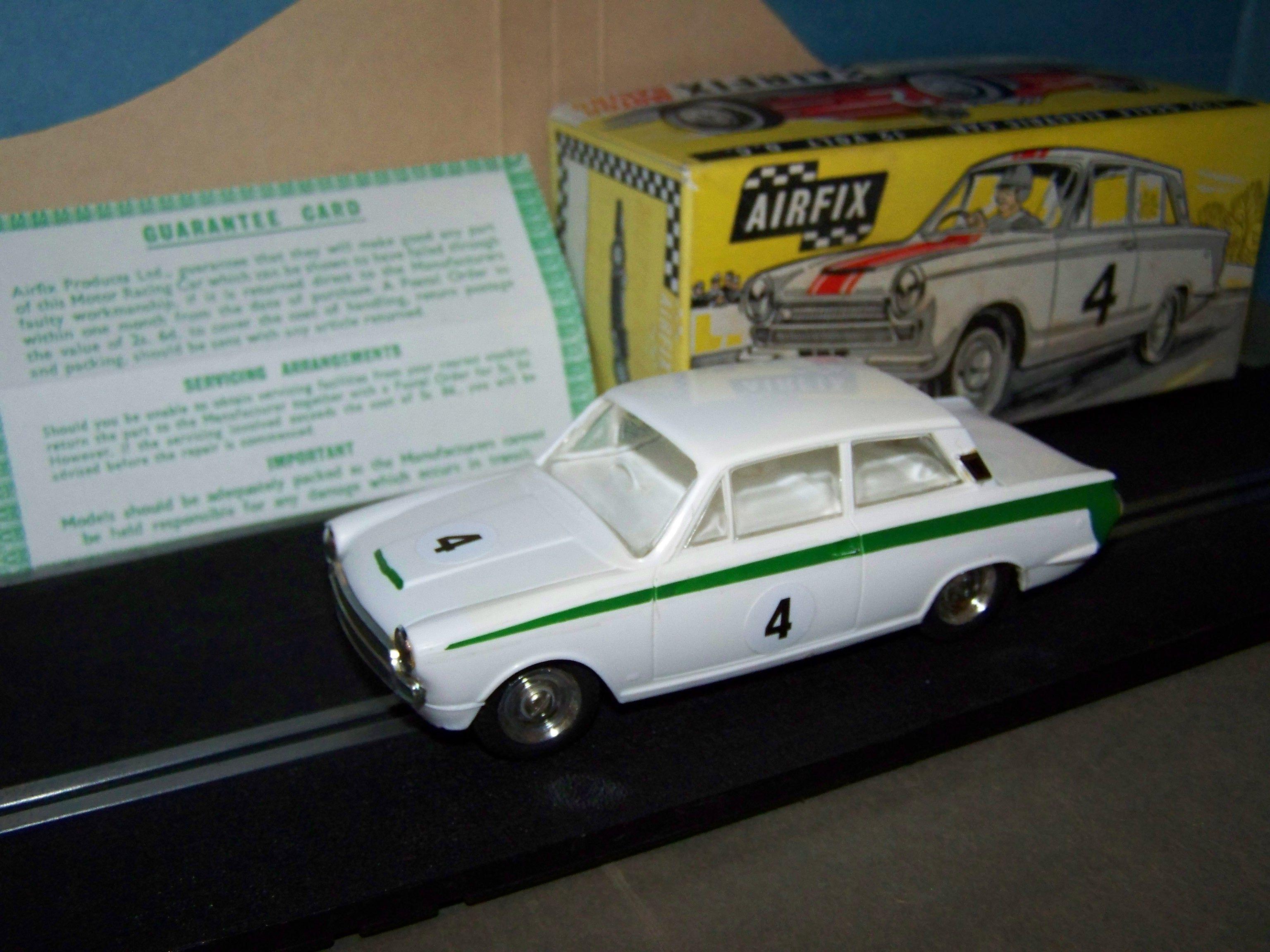 Major Airfix Racing Airfix Mrrc 5166 Lotus Cortina Type 1 Boxed