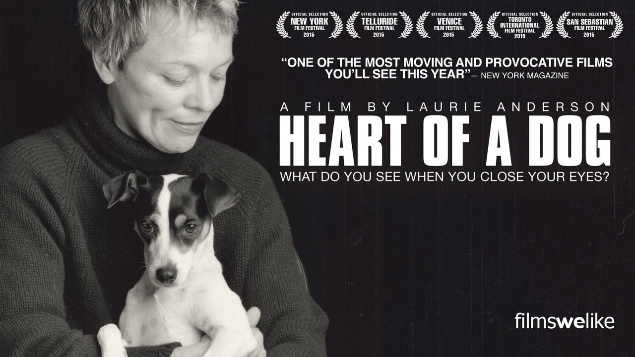 Laurie Anderson can do anything! Dog trailer