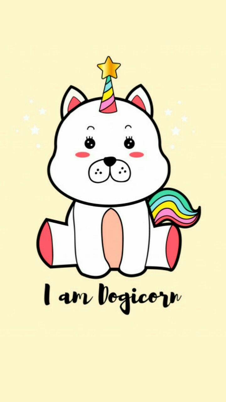 #wallpaper#unicorn#dogcorn