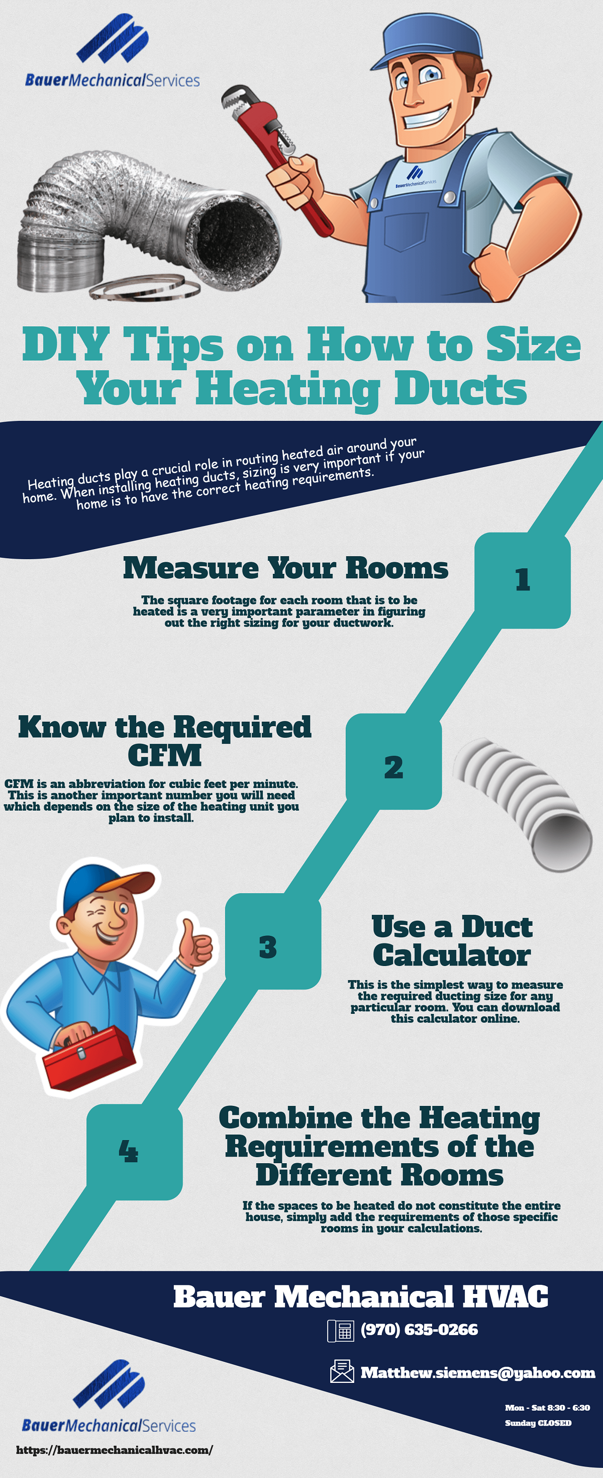 DIY Tips on How to Size Your Heating Ducts Ducted