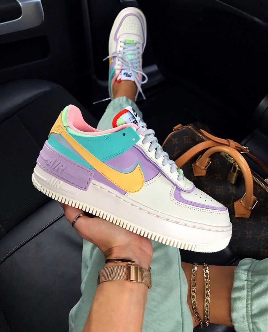 Nike Air Force 1 Shadow Pale Ivory in 2020 | Nike air shoes ...