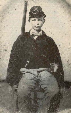 Calvin Avery Burton, 36th Alabama Infantry Boy Soldier