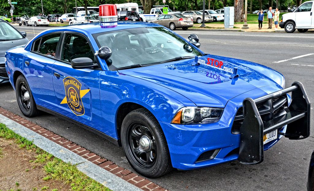 Michigan State Police Police Cars Emergency Vehicles Police