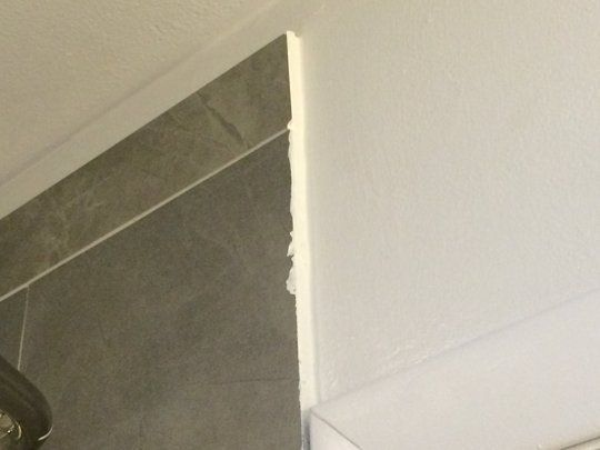 how to make exposed tile edges look