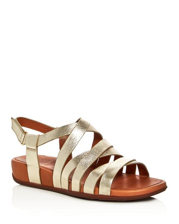 63ccf9f86 FitFlop Lumy Metallic Crisscross Demi Wedge Sandals | Products ...