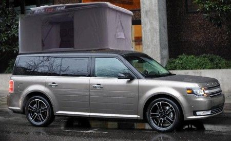 Ford Flex Square Auto Tent From Starling Travel Ford Flex Roomy