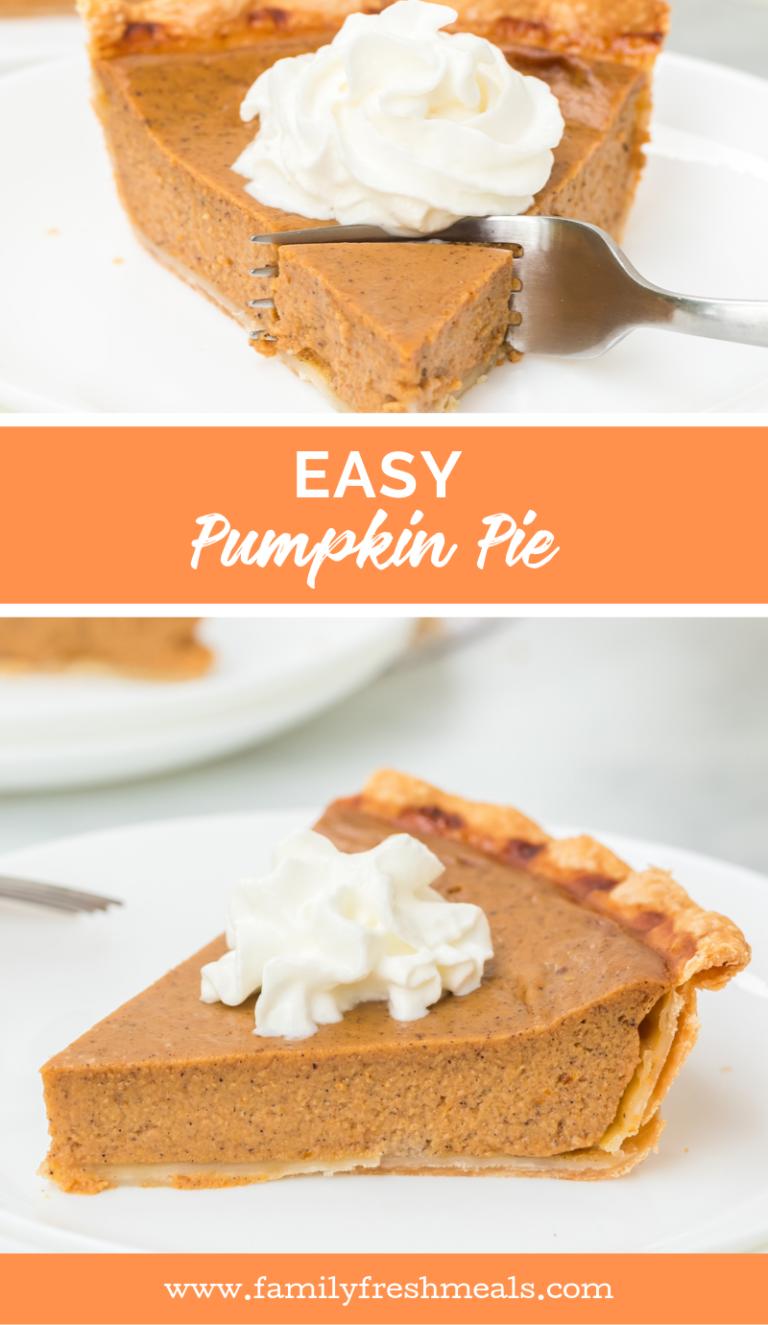 Easy Homemade Pumpkin Pie Recipe Pumpkin Pumpkinpie Homemade Easyrecipe Pie Thanksgiving Pumpkin Pie Recipes Homemade Pumpkin Pie Pumpkin Pie Recipe Easy