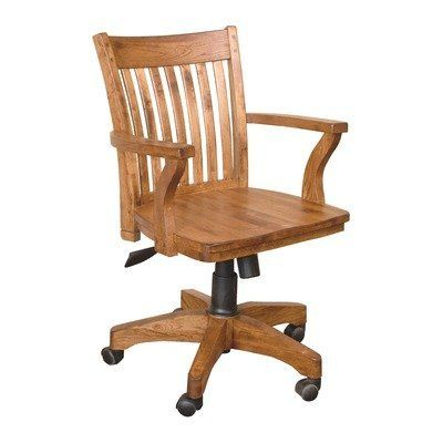 Sunny Designs 2953ro Sedona Office Chair Rustic Oak Finish Sunny