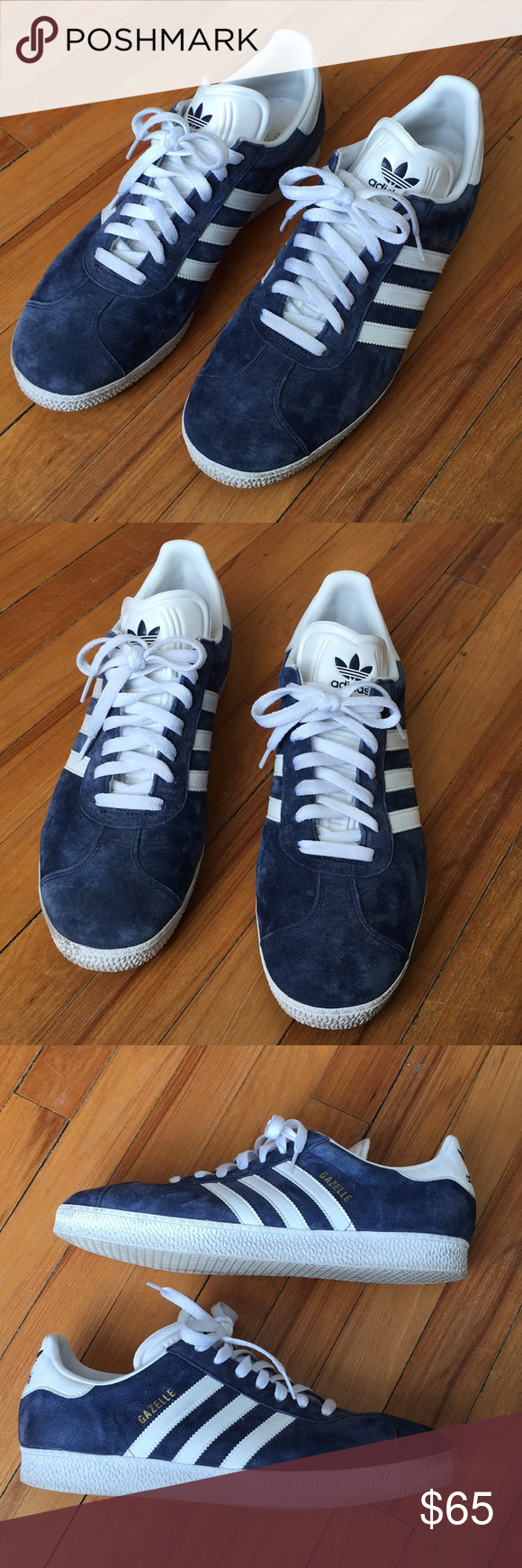 Los hombres de Adidas Gazelle zapatillas adidas Gazelle, Suede zapatillas y