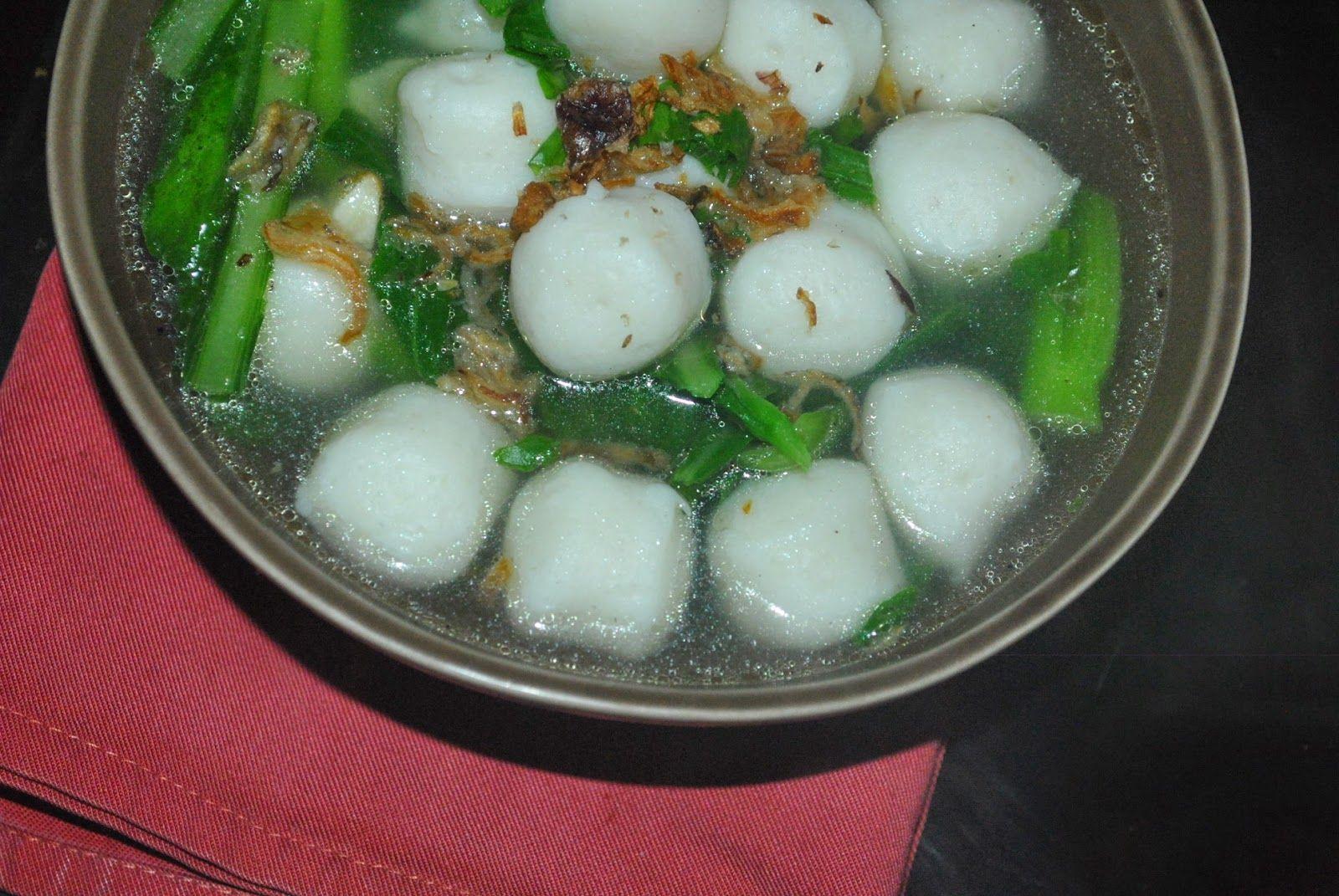 Paty Skitchen Fishballs Soup Sup Bebola Ikan Resep Masakan Malaysia Sup Makanan Cina
