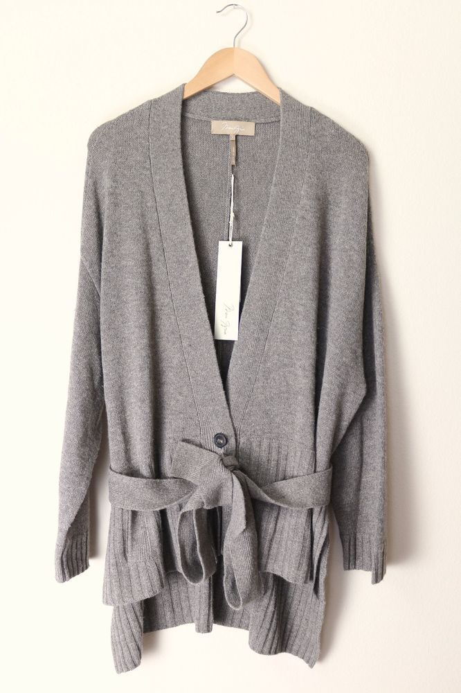 BCBG MAX AZRIA Women's Knitted Sweater, Wool Cardigan, Size L ...