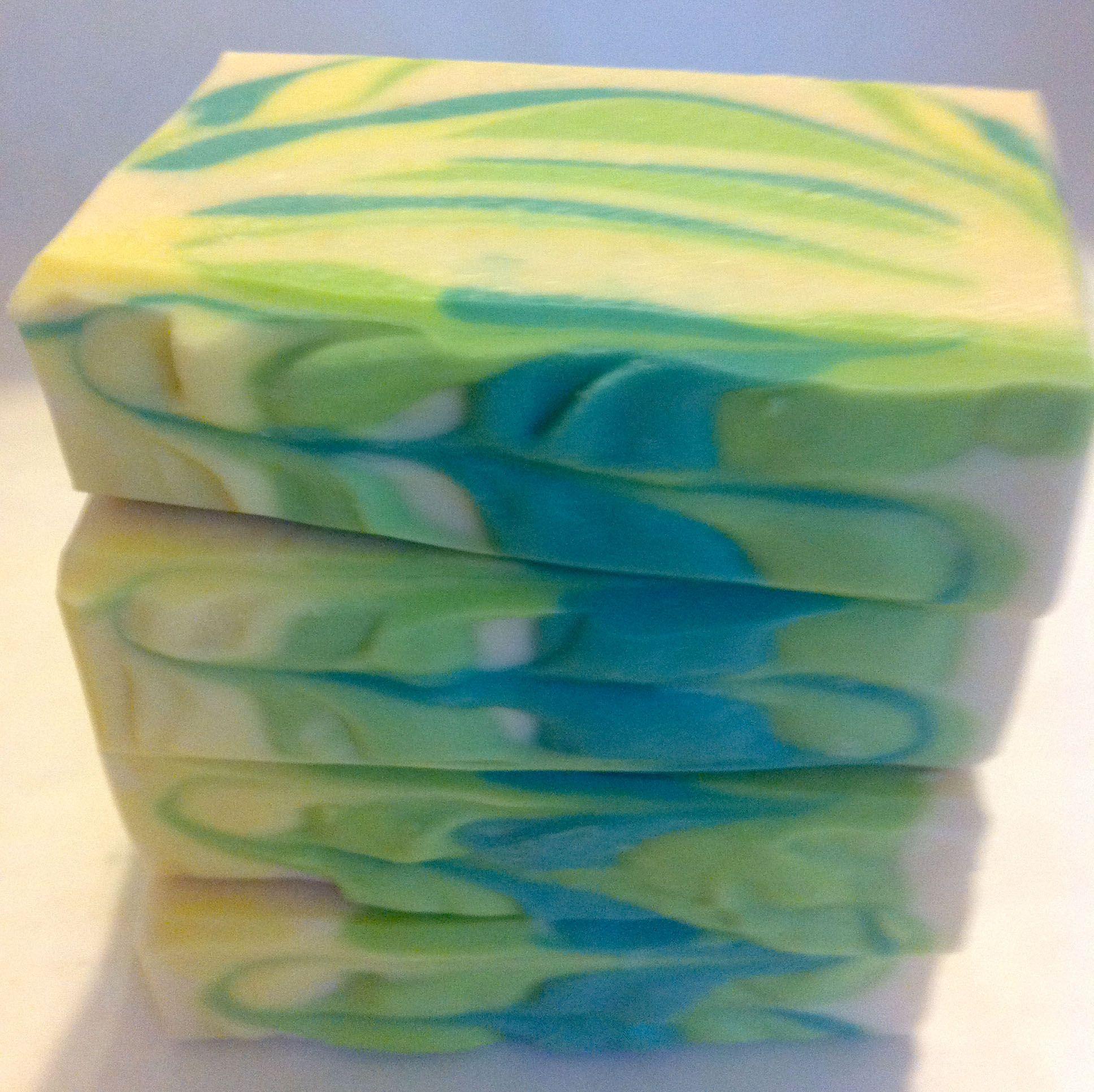 spearminy lavender soap | lavender spearmint | New England Handmade Artisan Soaps