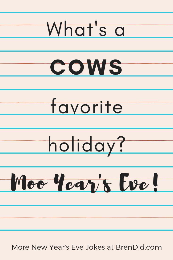 New Years Eve Joke Teller For Kids Bren Did New Year S Eve Jokes New Year Jokes Silly Jokes