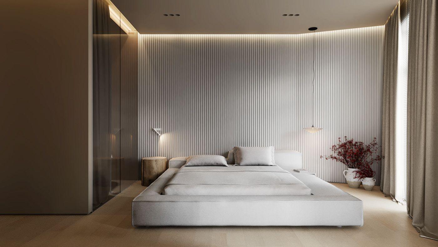 AP I white sand on Behance   Minimalism interior, Interior design ...