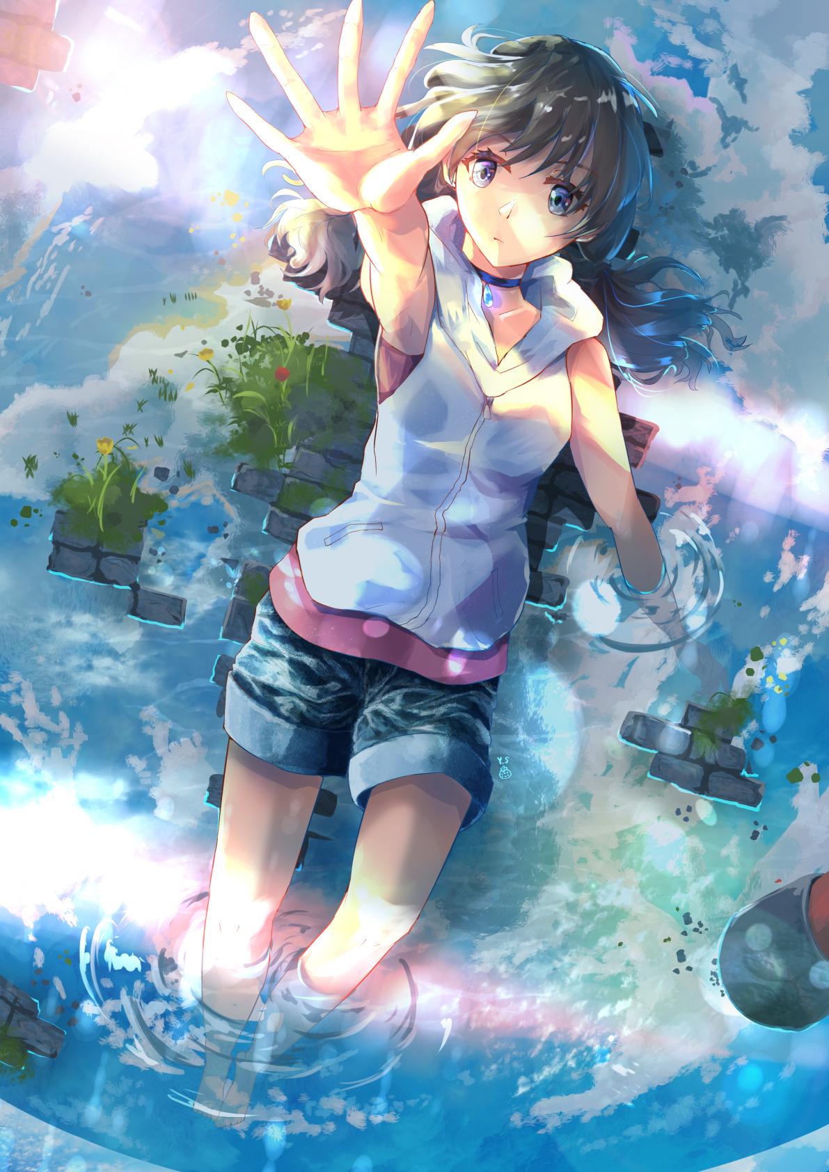 Pin by 冠宇 陳 on 天氣之子 Anime scenery, Anime images, Anime art
