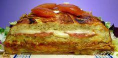 Al Rincón de Cocinar: Pastel Salado Pan de Molde