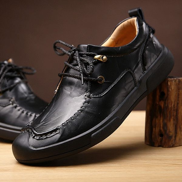 596c4523751d Men Luxury Hand Stitching Anti-collision Toe Outdoor Sport Casual Shoes -  NewChic Mobile.