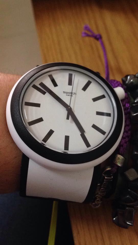 The new pop swatch watch