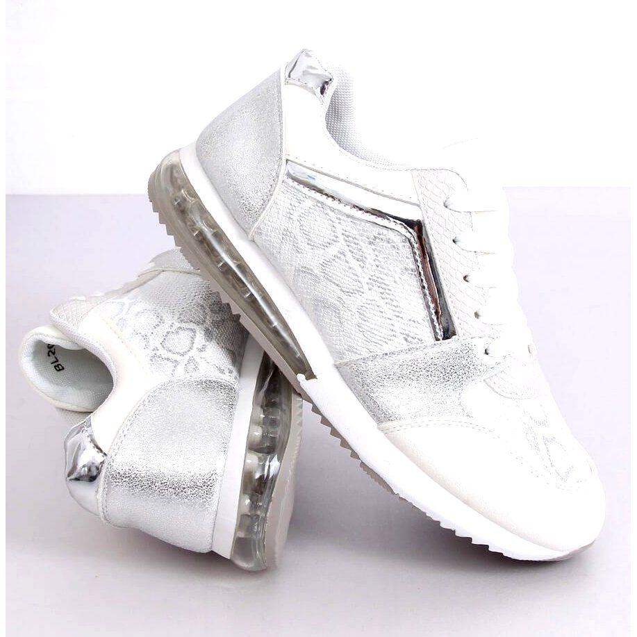 Buty Sportowe Damskie Biale Bl206 White Wedding Sneaker Wedding Shoe Sneakers