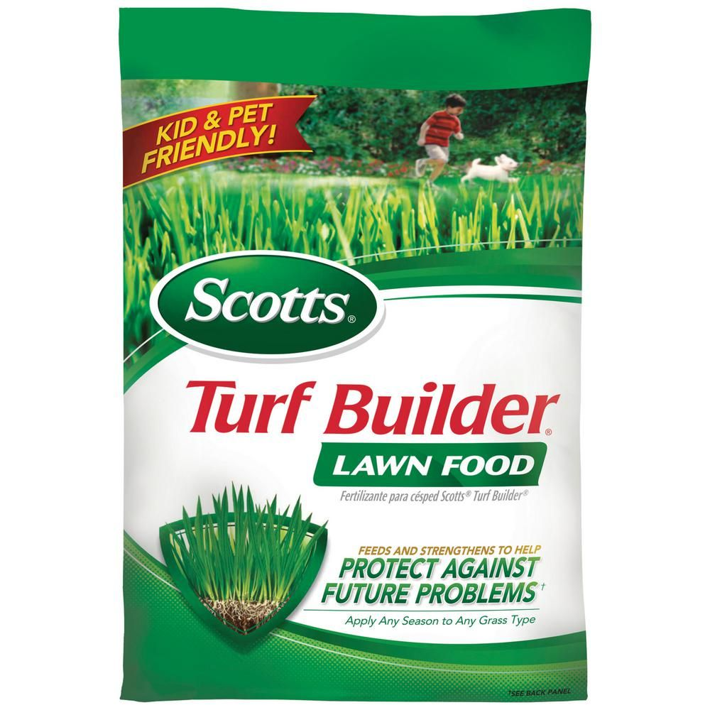 Scotts 12.6 lb. 5,000 sq. ft. Turf Builder Lawn Food