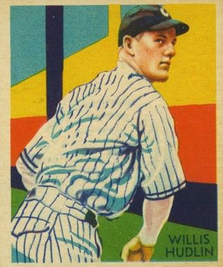 1935 Diamond Stars Willis Hudlin 79 Baseball Card Value Price Guide