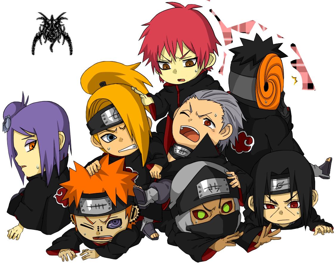 Chibi Akatsuki Naruto Akatsuki Chibi ...