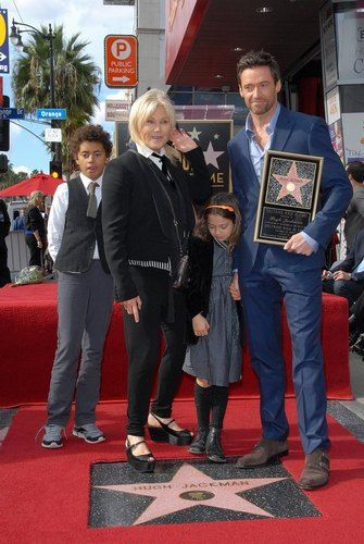 Hugh and family