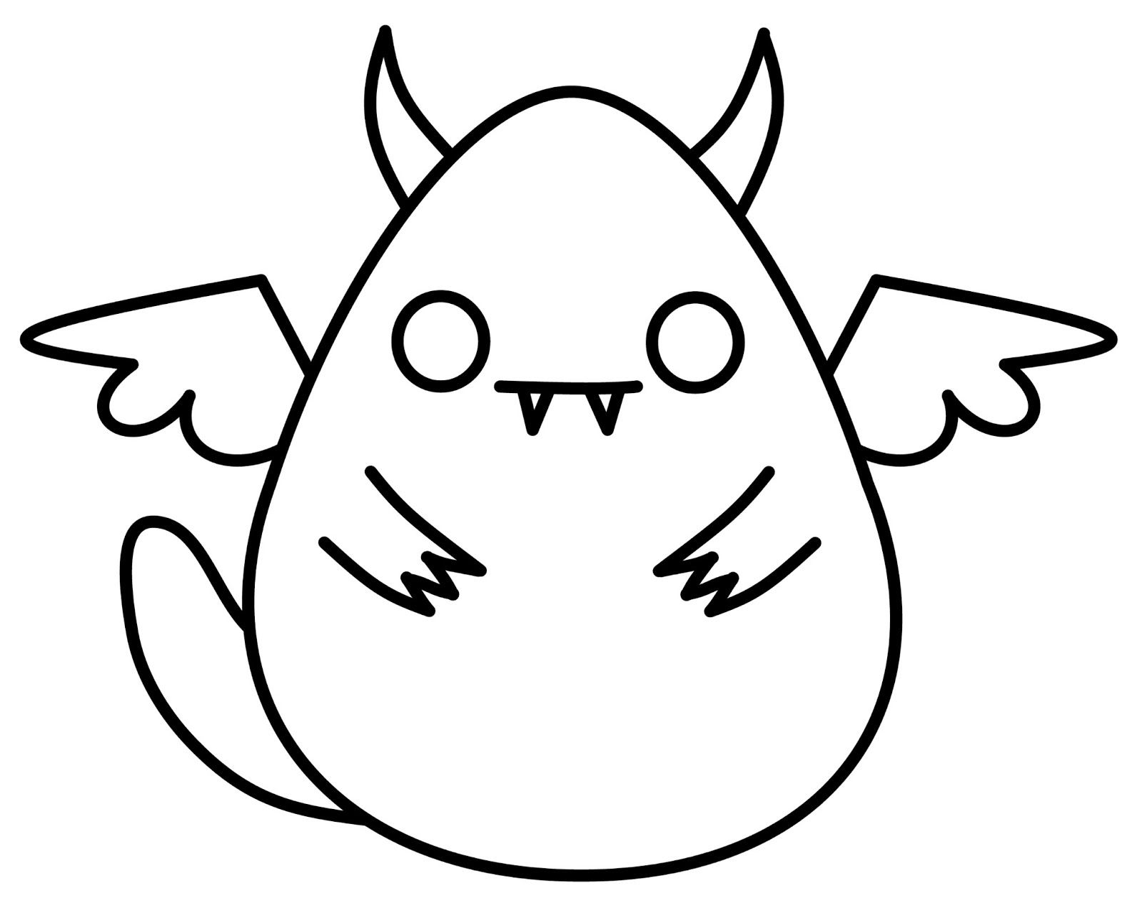 Cute N Kawaii How To Draw A Kawaii Monster Anime Eyes Easy