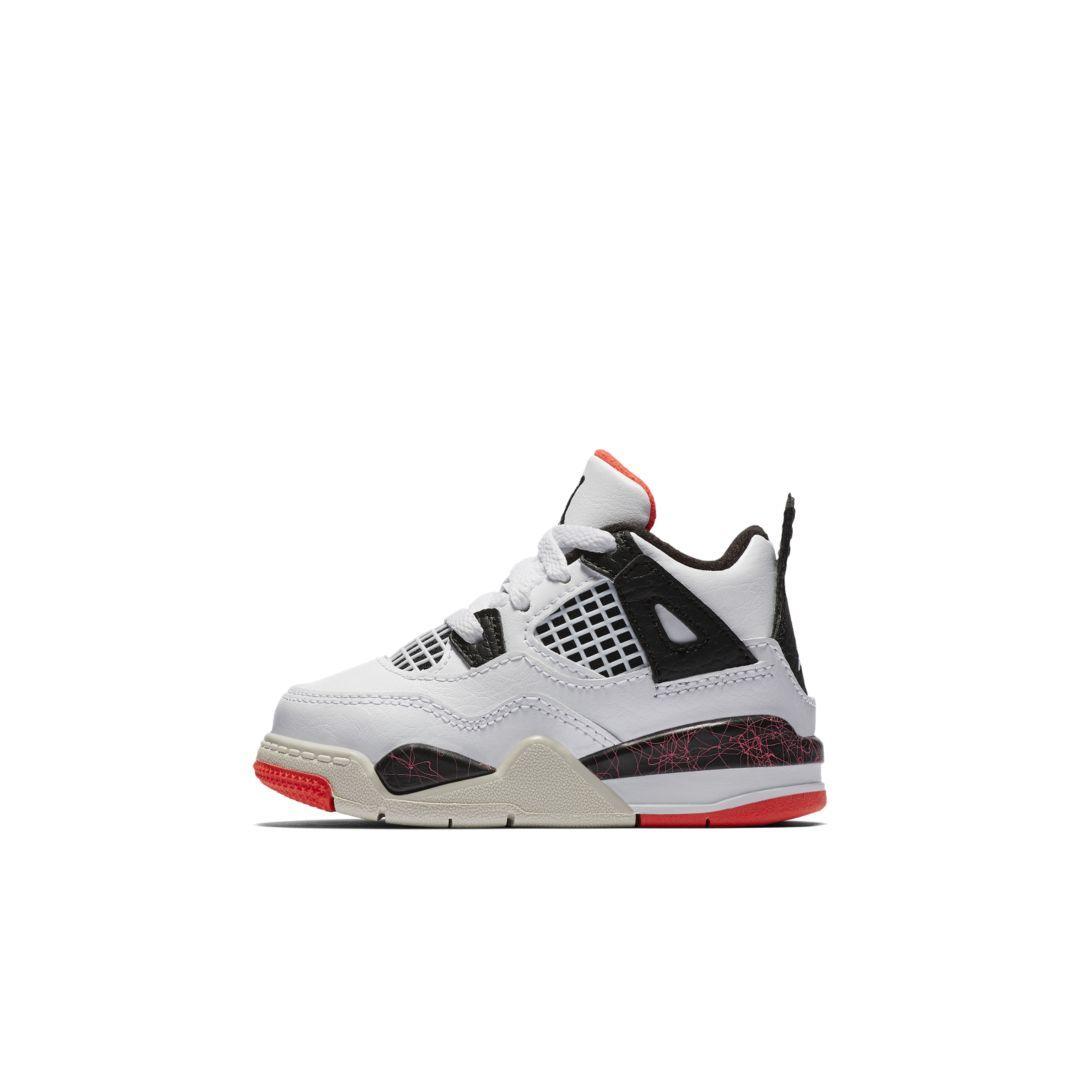 Air Jordan 4 Retro Baby Toddler Shoe Size 10c White Toddler Shoes Retro Baby Air Jordans