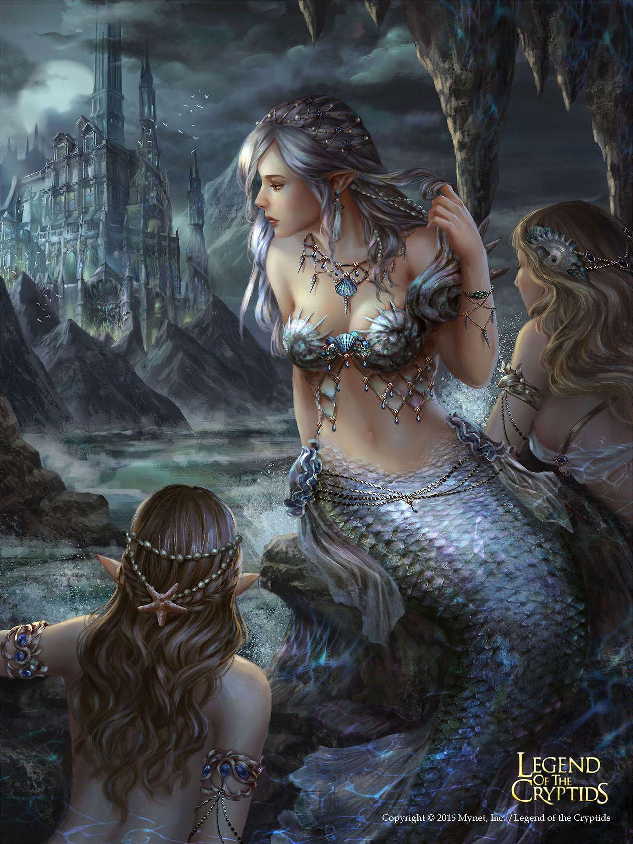 Womans erotic monster fantesy