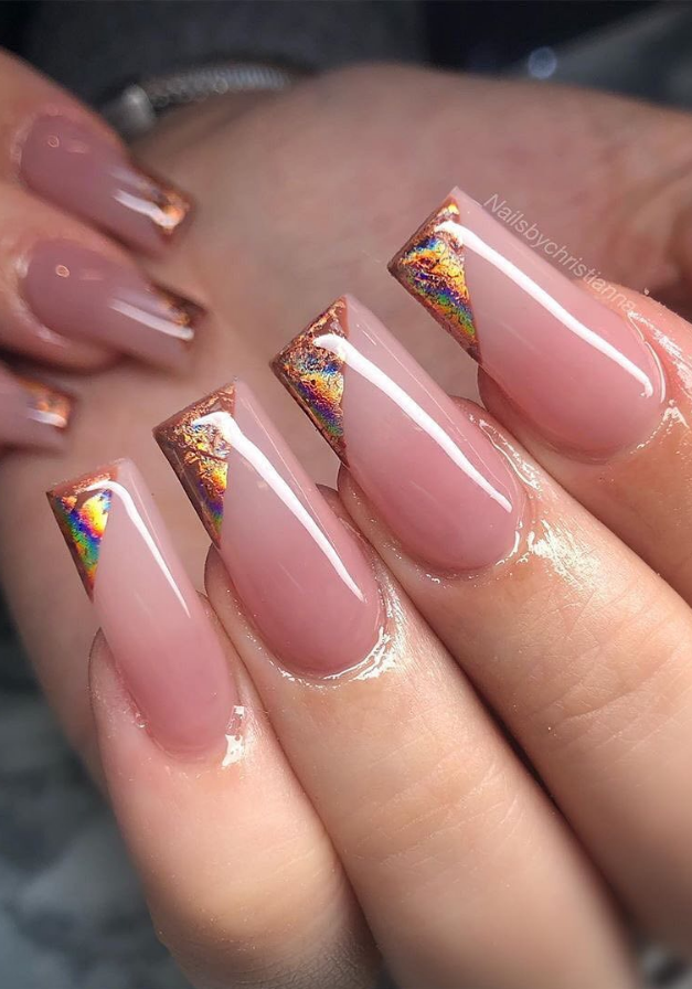 70 Fresh Design Ideas for Almond-Shaped Nails - Page 55 of 70 - Lily Fashion Style